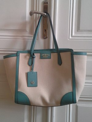 Gucci Shopper light blue-white leather