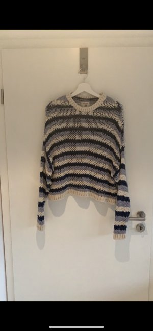Pull & Bear Coarse Knitted Sweater multicolored