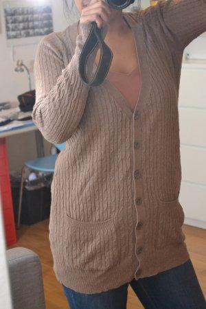 Sommerlicher Zopfmuster Cardigan von Zara