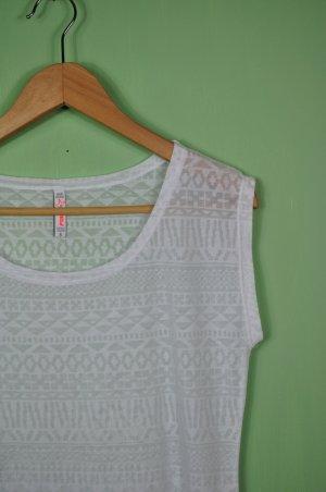 Sommerliches Aztek Top / Shirt