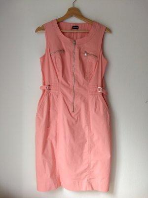 Sommerliches Baumwollkleid mit Reißverschluss