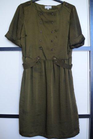 Sommerliches Blusenkeid im Military-Stil.Wie neu!!
