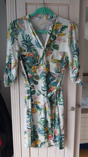 Promod Vestido estilo camisa multicolor