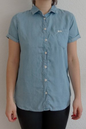 Sommerliches Button-up Hemd Lee Denim-Look - NEU & UNGETRAGEN