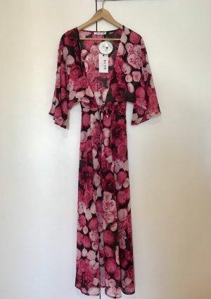 Sommerliches Chiffon Coat Dress