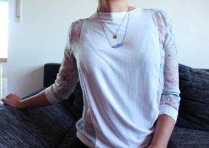 Sommerliches gemustertes 3/4- Shirt