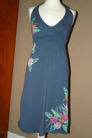 Sommerliches H&M Bandeaukleid in Gr. XS/S