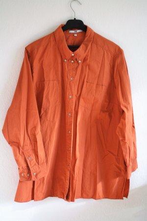 Sommerliches Hemd/Bluse Orange 2XL
