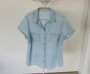 Sommerliches Jeans-Shirt, Größe 46, fällt schön
