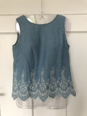Sommerliches Jeans-Top