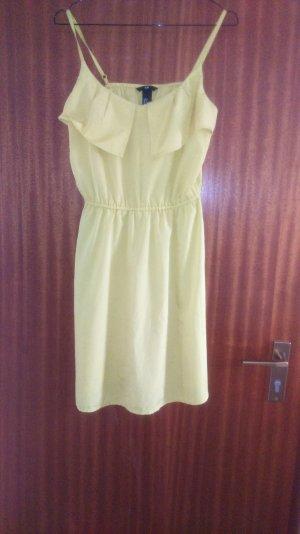 Sommerliches Kleid 36 H&M in knalligem gelb