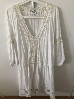 Edited Vestido tipo túnica blanco