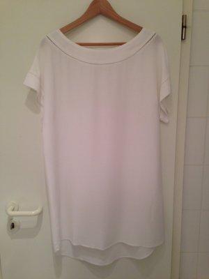 Sommerliches Kleid in weiß von ZARA in Größe L