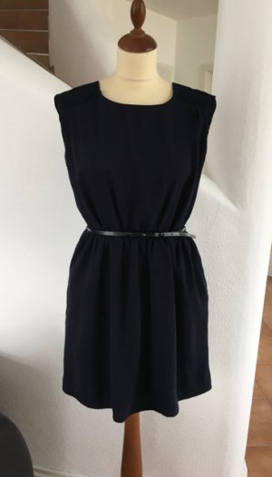 Sommerliches leichtes Kleid von Mango in Dunkelblau Gr. XL oder 40/42