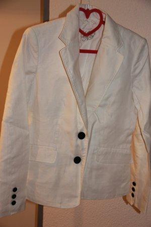 Mango Suit Zakelijk pak wit Linnen