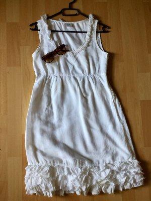Esprit Vestido playero blanco-blanco puro