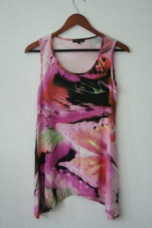 Long Shirt multicolored mixture fibre