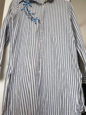 LC Waikiki Lange blouse wit-azuur