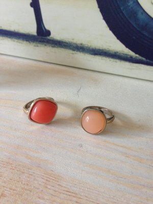 Sommerliches Ring Set Duo