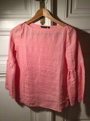 Massimo Dutti Blouse en lin rose-rose clair lin