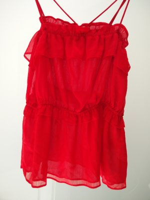 Sommerliches rotes Top