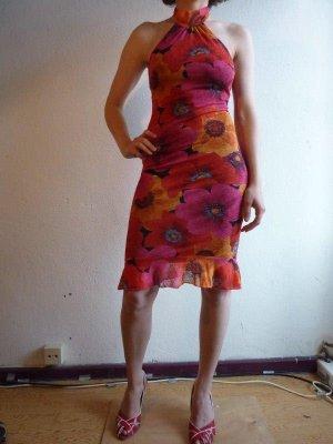 Sommerliches Sexy Kleid, Neckholder clothes by H&M, bunt geblümt