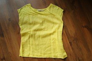 sommerliches Shirt in tollem Gelb