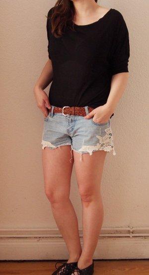 sommerliches Shirt von Bershka Gr. S