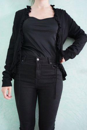 Comma Cardigan black mixture fibre