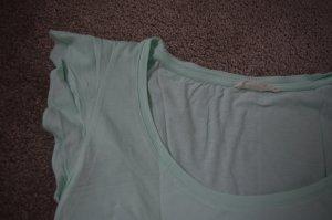 Bershka T-shirt verde-grigio