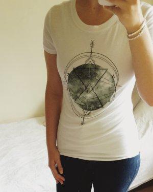 sommerliches T-Shirt weiß aus Amerika