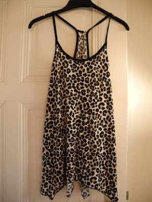 Sommerliches Tank Top Shirt im Leopardenprint