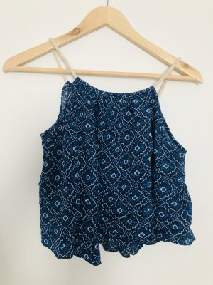 Forever 21 Cropped Top blue