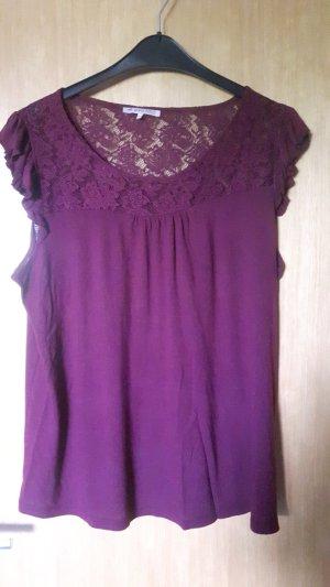 Anna Field Lace Top purple