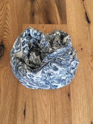 Sommerliches Tuch in blau weiß