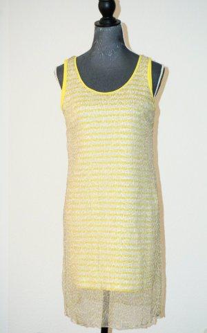 Sommerliches Zwei-Lagen-Kleid, Gr. 36 - 38 NEUWERTIG EINWANDFREI