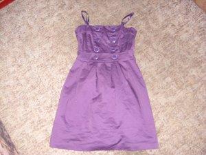 Long Shirt dark violet cotton