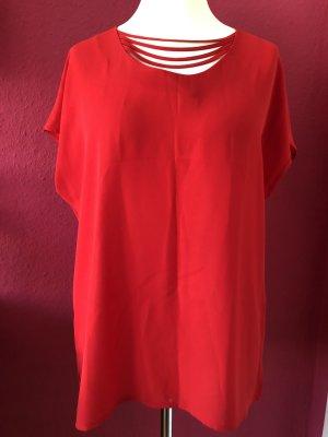Sommermann rotes langes Sommer Shirt