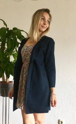 Opus Wool Coat blue-dark blue