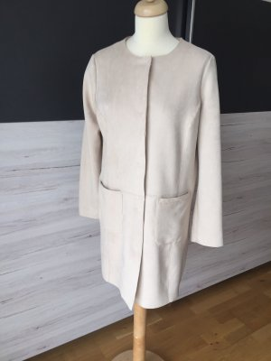 Coolwater Short Coat cream polyester