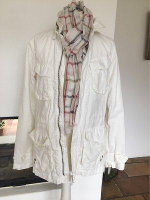 H&M Divided Military Jacket white