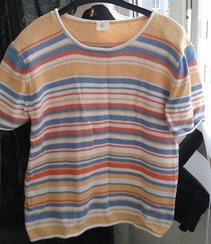 Short Sleeve Sweater multicolored
