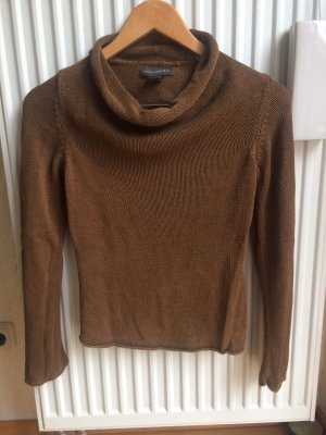Banana Republic Kraagloze sweater bruin-cognac
