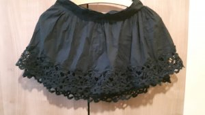 Lace Skirt black-dark blue