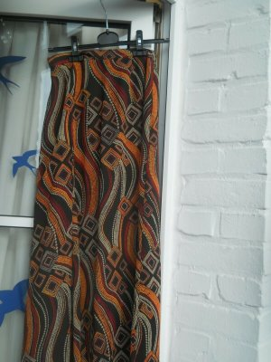 Maxi Skirt orange-brown