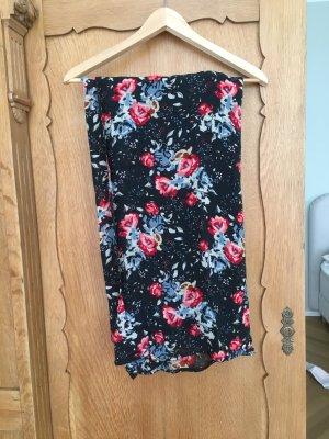 Sommerrock mit Blumenmuster