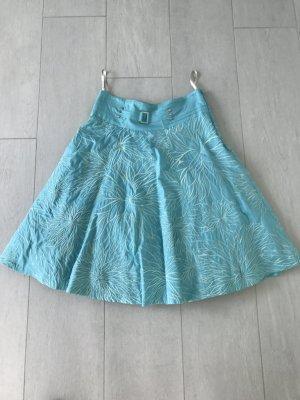 Sommerrock Vintage Türkis, Gr 36