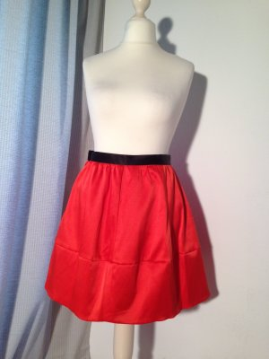 Rot Oranger Minirock ♥ H&M Conscious Collection