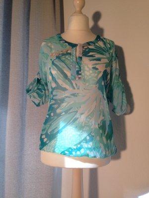 Transparente Bluse von Flame Gr. S
