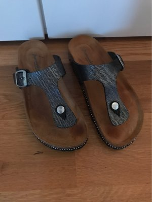 Sommerkind Toe-Post sandals multicolored